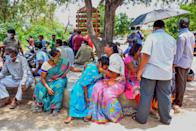 <strong>Gas leak: </strong>Family members react as they mourn deceased relatives a day after a gas leak incident at LG Polymers plant, at King George Hospital mortuary, in Visakhapatnam on May 8, 2020.Engineers battled on May 8 to prevent more toxic gas escaping at a chemical plant on India's east coast, a day after a pre-dawn leak killed 12 people and knocked locals unconscious in the street.