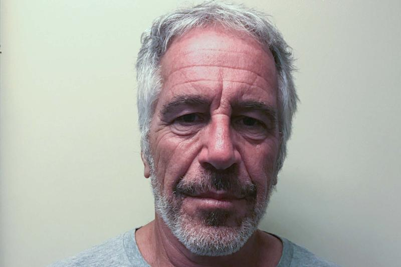 Financier Jeffrey Epstein appears in a photograph taken for the New York State Division of Criminal Justice Services' sex offender registry March 28, 2017. (REUTERS)
