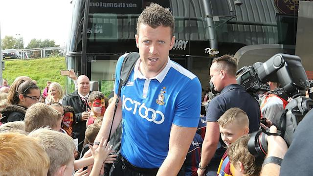 Bradford City goalkeeper Colin Doyle made a special effort to be available for his team just a day after playing for Ireland in Turkey.