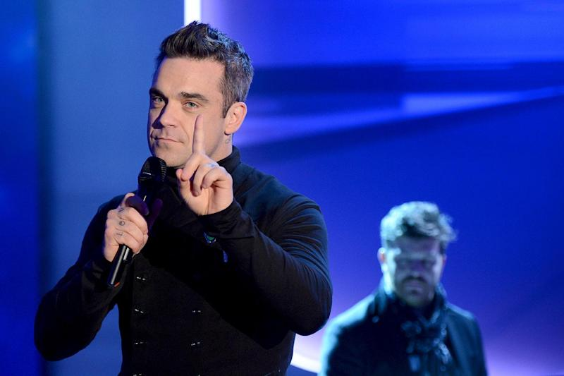 Refusing chocolate: Robbie Williams (Photo: Sascha Baumann/ZDF via Getty Images) (Getty Images)