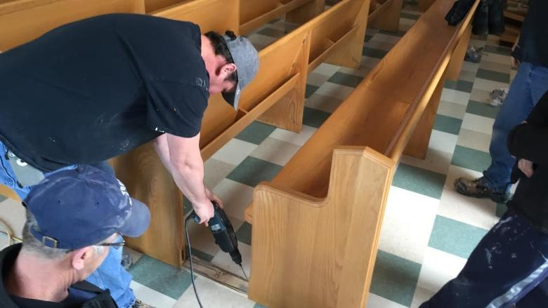 Parishioners return in time for Easter to Sydney church damaged by flood