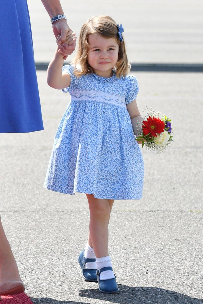 Princess Charlotte's future kids won't have a royal title. Photo: Getty Images