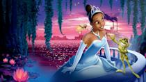 """<p>disneyplus.com</p><p><a href=""""https://go.redirectingat.com?id=74968X1596630&url=https%3A%2F%2Fwww.disneyplus.com%2Fmovies%2Fthe-princess-and-the-frog%2F7TPAcC8QPGpm&sref=https%3A%2F%2Fwww.redbookmag.com%2Flife%2Fg34929170%2Fbest-disney-movie1%2F"""" rel=""""nofollow noopener"""" target=""""_blank"""" data-ylk=""""slk:WATCH NOW"""" class=""""link rapid-noclick-resp"""">WATCH NOW</a></p><p>While it was one of the last Walt Disney Animation Studio films to be hand drawn in 2D animation, <em>The Princess and the Frog</em> was the first Disney movie to feature an African American princess. Set in 1920s New Orleans to a soundtrack of jazz music, the movie follows Tiana, who dreams of opening her own restaurant. But after kissing a prince who was turned into a frog by a voodoo sorcerer, she is also transformed into an amphibian. Before she can fulfill her life goal, she and Prince Naveen must break the spell to become human again before they run out of time.</p>"""