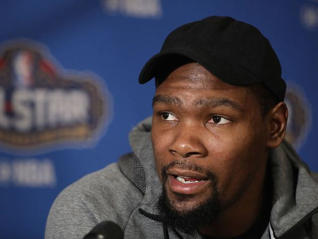 "<a class=""link rapid-noclick-resp"" href=""/nba/players/4244/"" data-ylk=""slk:Kevin Durant"">Kevin Durant</a>. (Getty Images)"