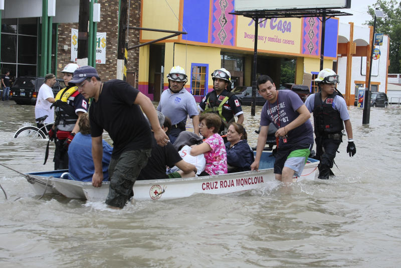 Mexico reports severe flooding in border city