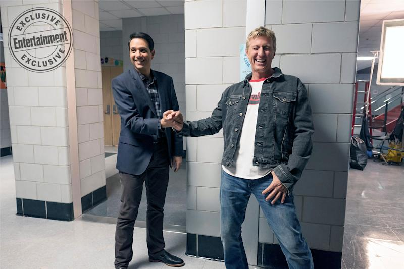 Karate Kid sequel series: Ralph Macchio, William Zabka reunite in BTS photo