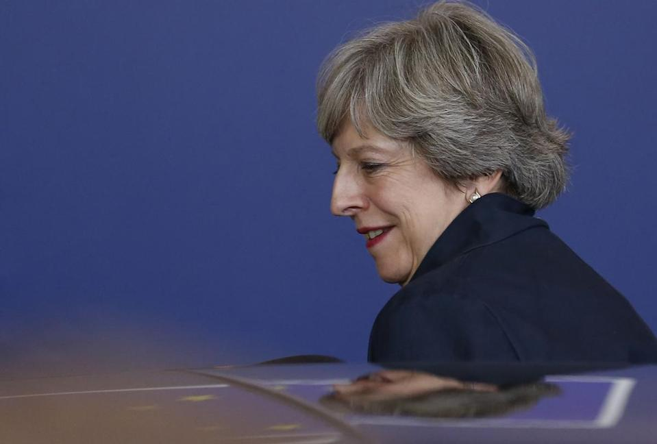 Theresa May has now said a transitional period may not happen (Rex)