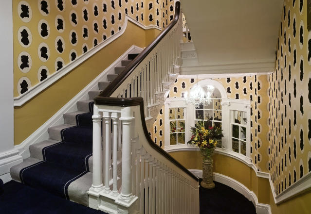 One of the stairwells at Francis Hotel Bath [Photo: Supplied]