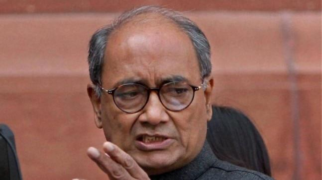 Congress leader Digvijaya Singh posted a tweet this morning alleging intelligence failure behind Pulwama terror attack that killed 40 jawans in February. Later he complained that his post was blocked for retweeting.
