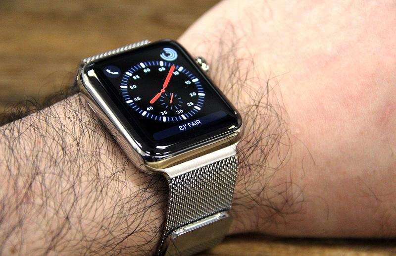 My personal favorite is the stainless steel model with the Milanese loop.