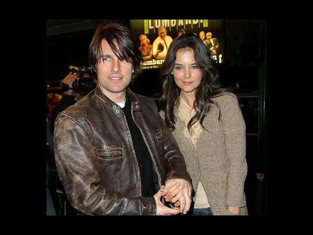 <b>1. Tom Cruise – Katie Holmes</b><br>To what was touted as the golden couple, came a rude end. Tom Cruise and Katie Holmes split after being married for close to 6 years. Holmes was reportedly upset over Tom Cruise's tryst with Scientology. Apparently, Tom Cruise had announced his love for Katie Holmes on the Oprah show, as he was seen jumping on the couch. Things however seemed to have taken an ugly turn over past one year or so. They both remain committed to their daughter, Suri.
