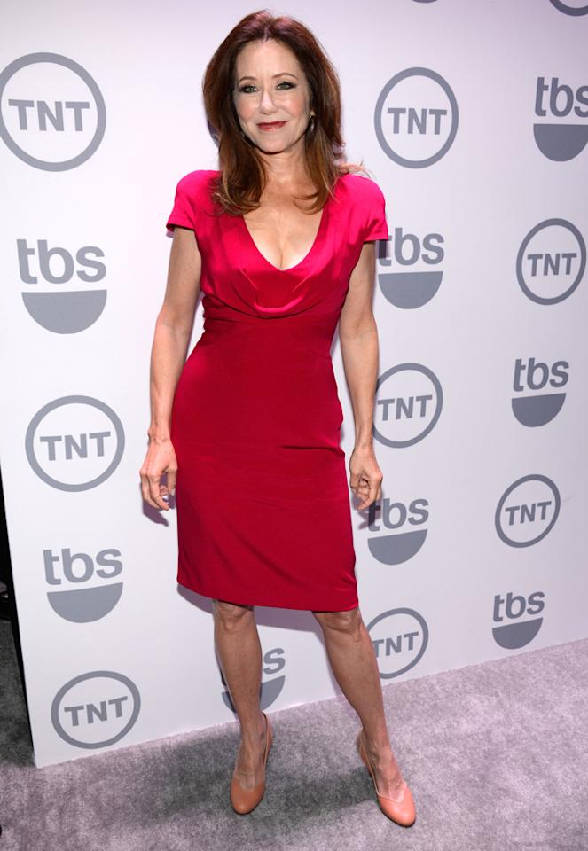"Mary McDonnell (""Major Crimes"") attends the TNT/TBS 2012 Upfront Presentation at Hammerstein Ballroom on May 16, 2012 in New York City."