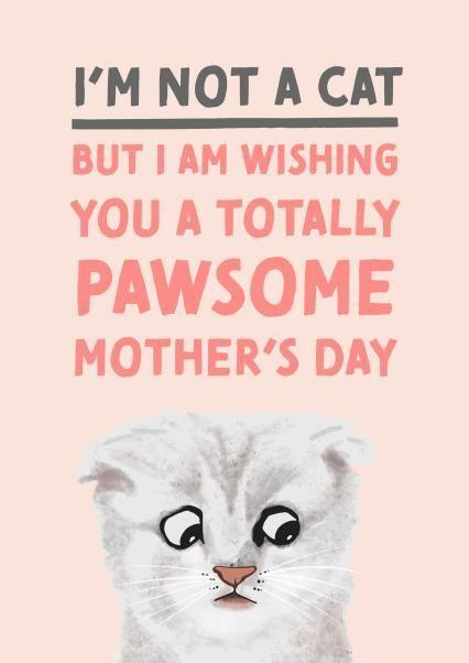I'm Not A Card, Mother's Day Card, Thortful (Photo: Thortful)