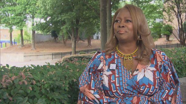 PHOTO: Latosha Brown, co-founder of the non-profit Black Voters Matter, saw the disparities in access to voting stations between predominantly black and white communities during the June 10 Georgia primaries. (ABC News )