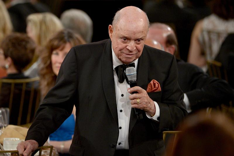 Insult comic: Don Rickles has passed away aged 90: Kevin Winter/Getty