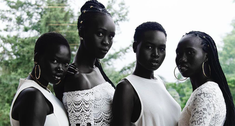 The internet is obsessed with these South Sudanese beauties
