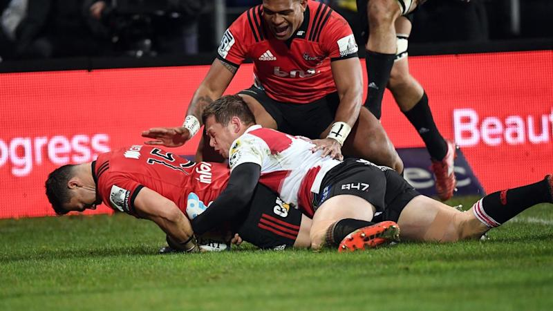 SUPER RUGBY FINAL CRUSADERS LIONS