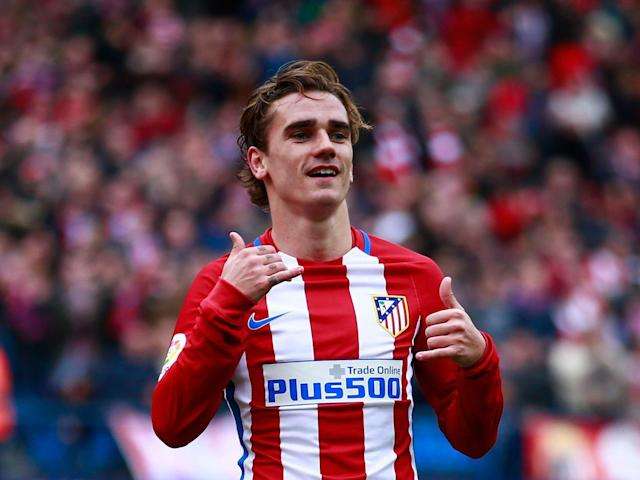 Griezmann has said he will stay with Atletico if Simeone does (Getty)