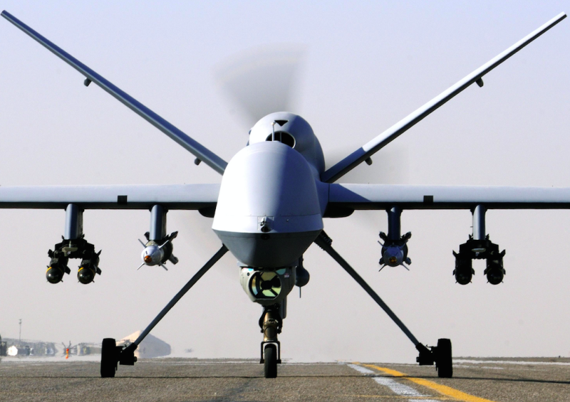 An RAF Reaper Unmanned Aerial Vehicle (Picture: PA)