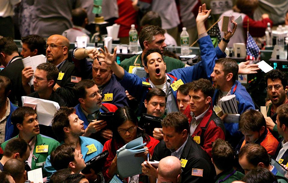 Just a prelude: 2018's market volatility could be a warning. Photo: Spencer Platt/Getty Images