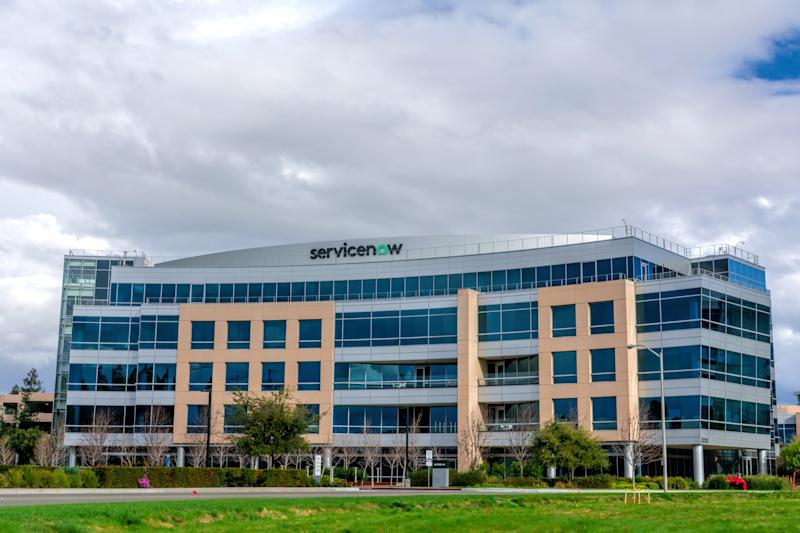 ServiceNow headquarters in Silicon Valley