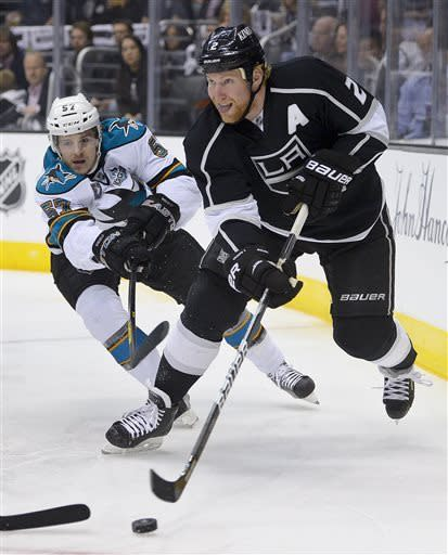 LA Kings advance, edging Sharks 2-1 in Game 7