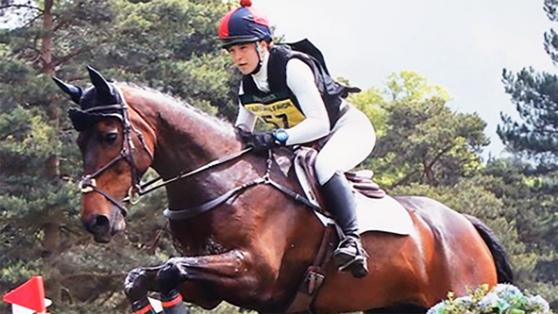 Iona Sclater was said to be a future star of equestrian. Image: Iona Sclater/Instagram