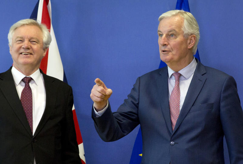 The Latest: UK envoy hails 'significant step' in Brexit deal