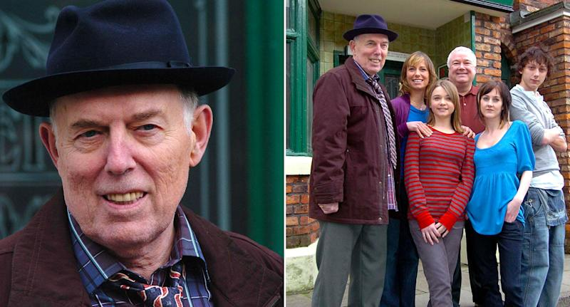Rodney Litchfield in promotional stills for Coronation Street. (ITV/Getty)
