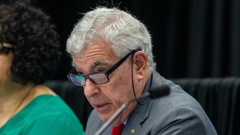 Ronald Sackville is chairing the disability royal commission, with hearings this week in Melbourne