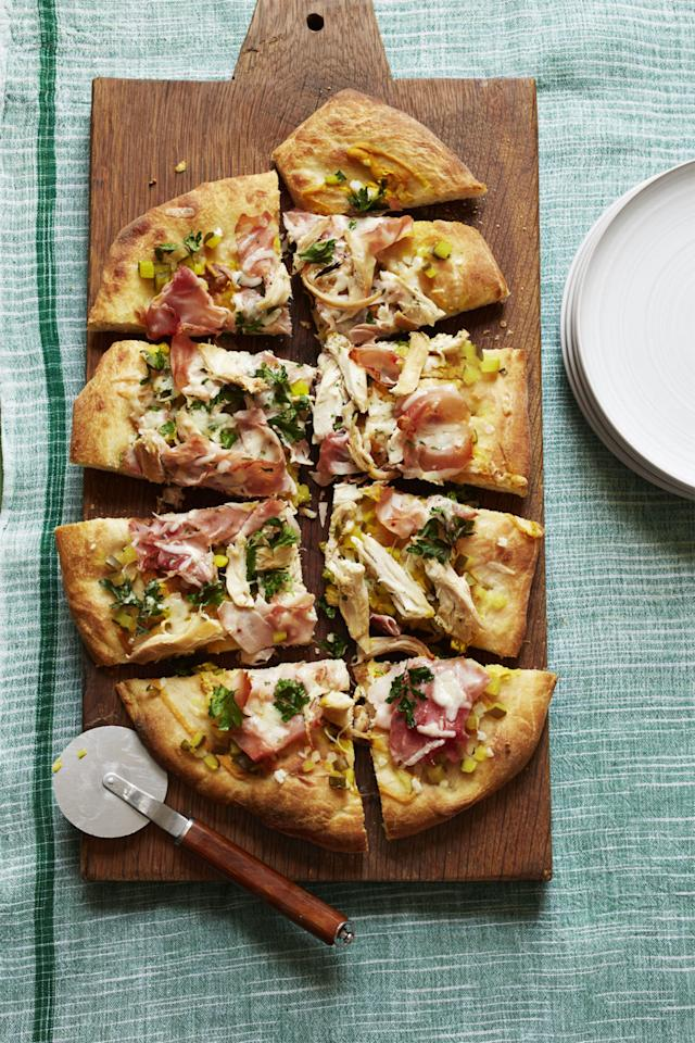 "<p>Each slice is piled with toppings from your favorite sandwich<span>.</span></p><p><span><a rel=""nofollow"" href=""http://www.womansday.com/food-recipes/food-drinks/recipes/a56182/pizza-cubano-recipe/""></a><strong><a rel=""nofollow"" href=""http://www.womansday.com/food-recipes/food-drinks/recipes/a56182/pizza-cubano-recipe/"">Get the recipe.</a></strong></span></p>"