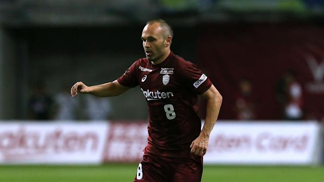 Andrés Iniesta may be 34 years old, but he still has a dramatic flair. (Omnisport)