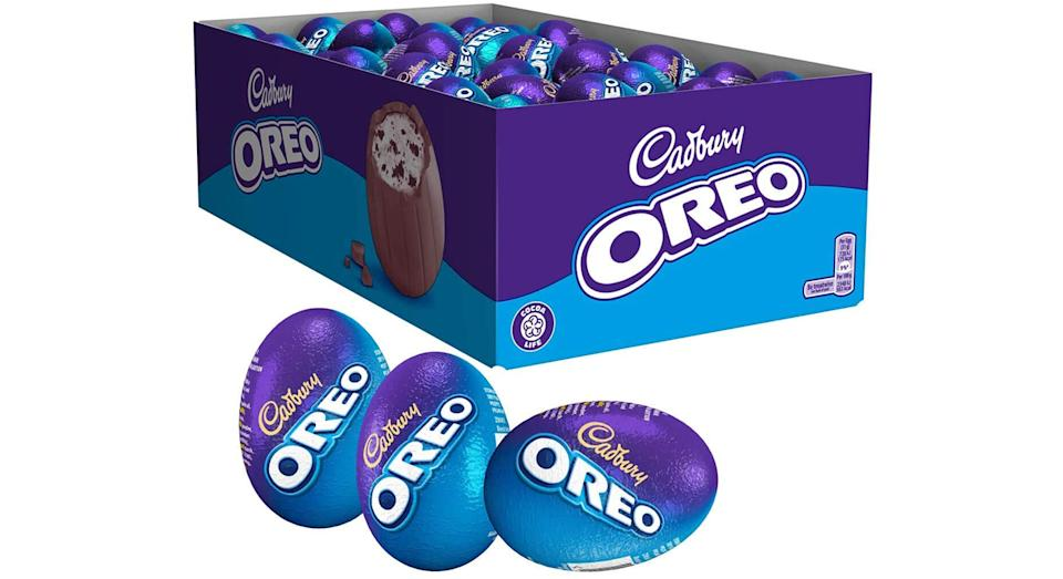 Cadbury Oreo Chocolate Easter Egg Pack of 48