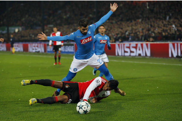 Napoli haven't lived up to the hype in Europe