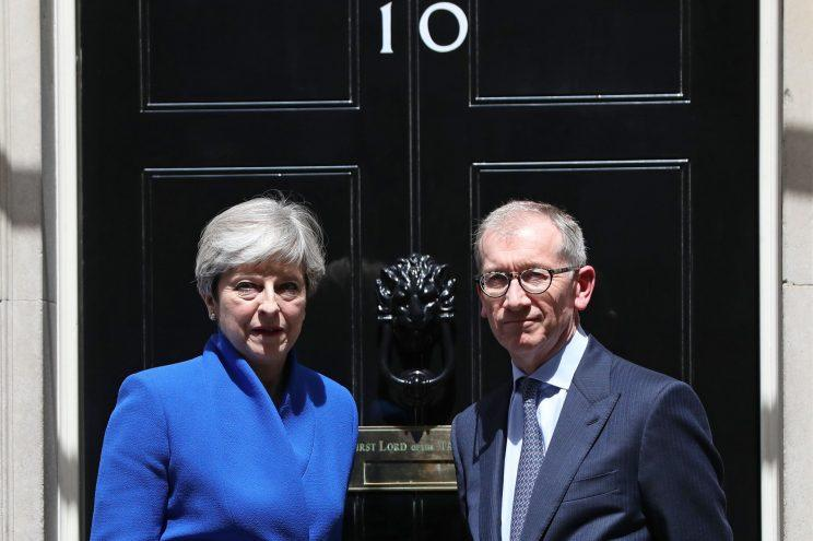 Theresa May finalises cabinet amidst leadership uproar in Conservative party