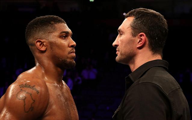 The waiting is nearly over for the huge Wembley fight - PA