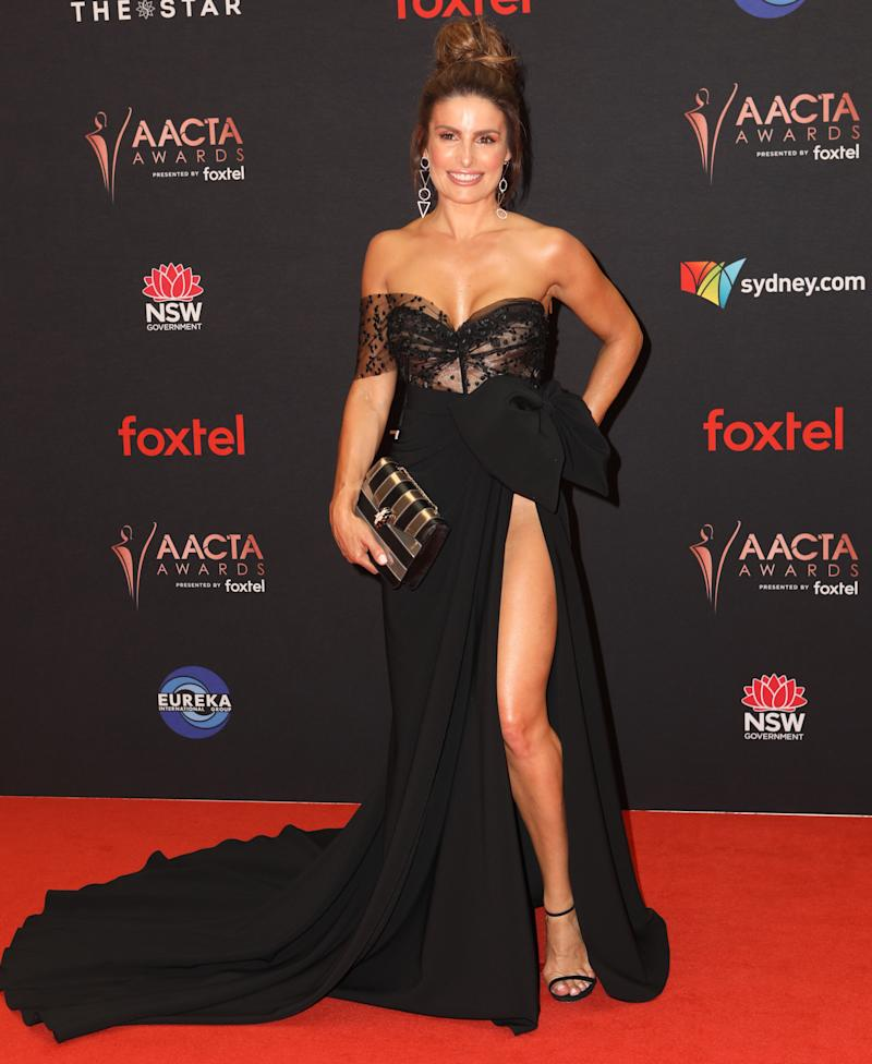 Ada Nicodemou on 2019 AACTA Awards red carpet