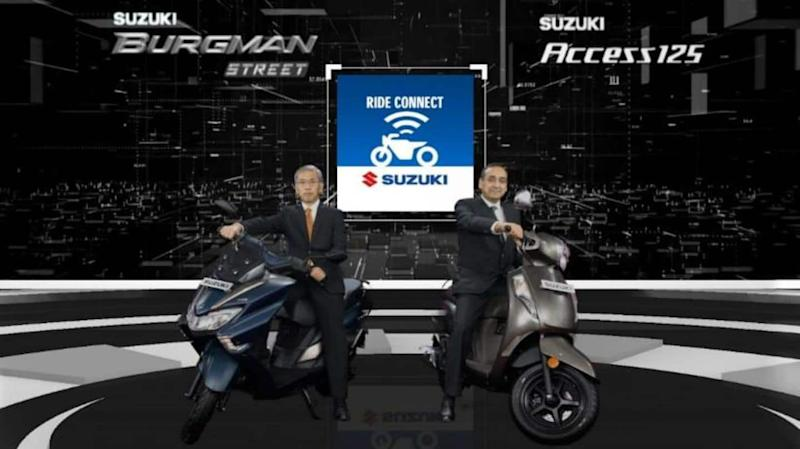 Suzuki Access 125 and Burgman Street, with Bluetooth connectivity, launched