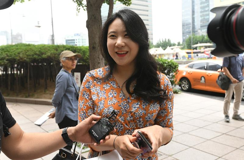 Lee Hye-ji a 31-year-old South Korean housewife says she is 'hopeful&#x27 about the historic summit