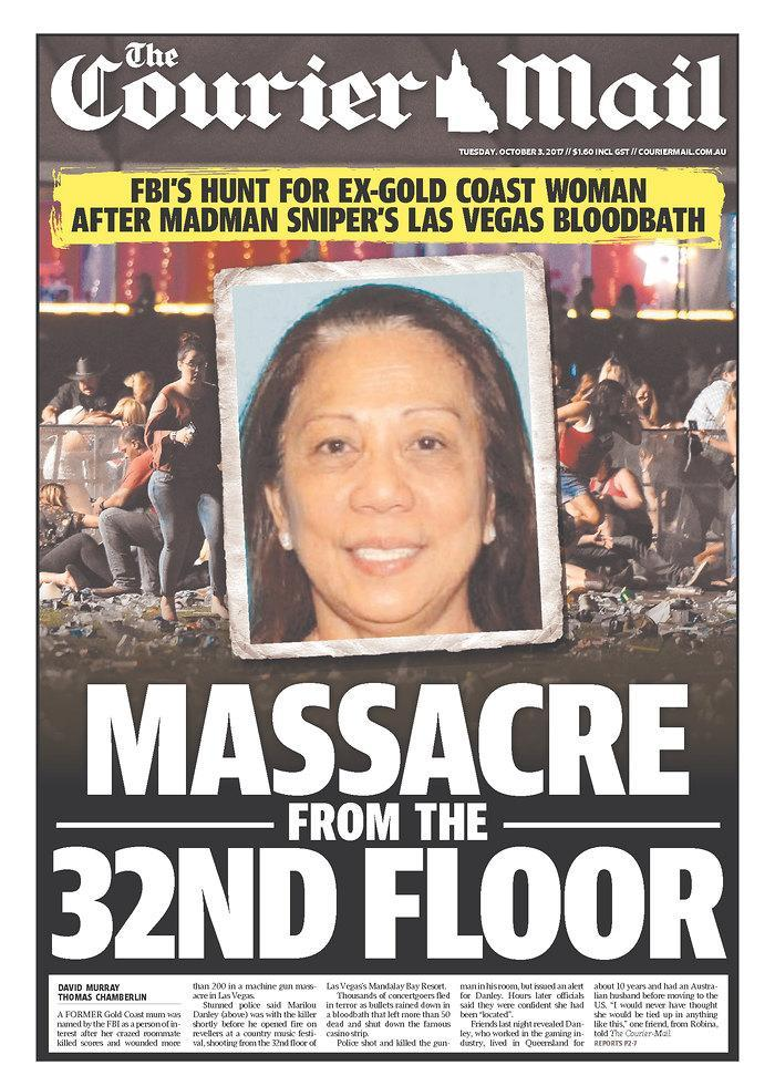 """<p>""""The Courier-Mail,"""" published in Brisbane, Australia. (newseum.org) </p>"""