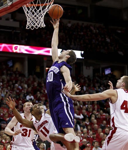 Taylor, Wisconsin charge past Northwestern 77-57