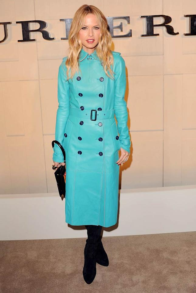 Stylist-to-the-stars Rachel Zoe hit up her second Beverly Hills red carpet event in a week when she attended Burberry's launch party for its new fragrance, Burberry Body, on Wednesday night. But what do you think of her buttoned-up look?