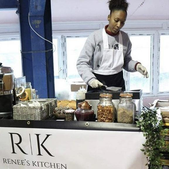 "<p><a class=""link rapid-noclick-resp"" href=""https://www.reneeskitchen.co.uk/"" rel=""nofollow noopener"" target=""_blank"" data-ylk=""slk:VISIT"">VISIT</a></p><p>Plant-based Caribbean street food that first sprung to life in the winter of 2017, Renee began her vegan journey five years ago and is now on a mission to get people eating healthier. Operating a delivery service out of Lewisham – selling jerk wraps and delicious Jamaican rice boxes – she hopes to open a ""small, homely café"" in the future. For now, she's also offering event catering and pitching up at food festivals (hopefully we'll see a lot more of those moving forward).</p>"