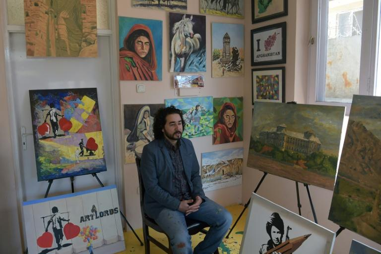 ArtLords' 45 artists have painted more than 400 murals on blast walls and other prominent places. It is risky work. Sharifi said he rarely goes out and is careful to use different routes when he does
