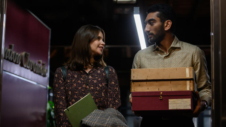 Felicity Jones carried out extensive research in order to play a journalist in 'The Last Letter From Your Lover'. (Parisa Taghizadeh/StudioCanal)