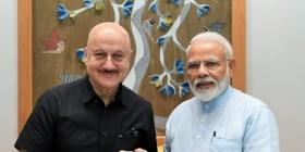 PM Narendra Modi 'touched' by Anupam Kher's mother's wish on his birthday