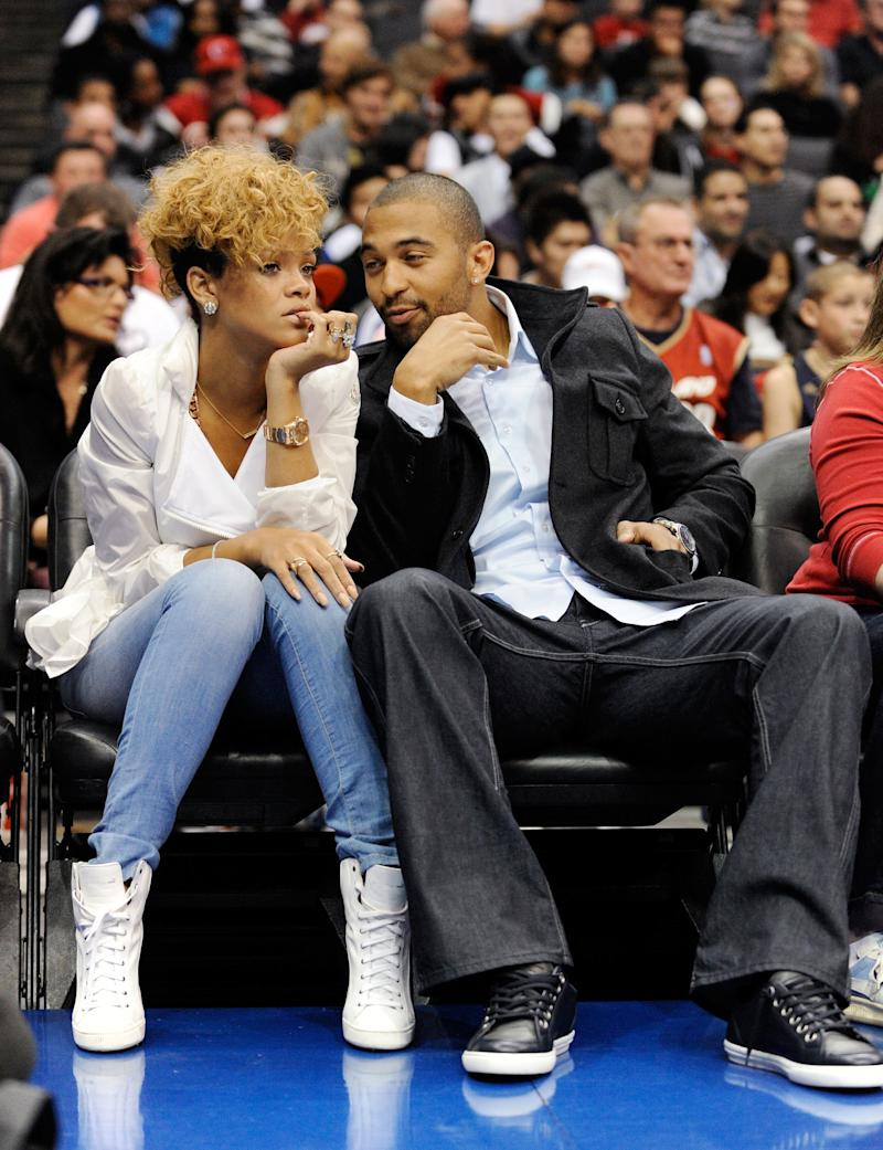 One of Rihanna's few confirmed relationships was with Matt Kemp, outfielder for the Los Angeles Dodgers. The pair dated for just under a year in 2011.