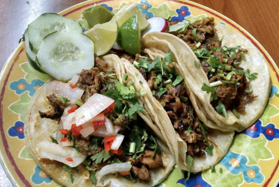 """<p>Taqueria La Placita is known by the locals as one of the best and most authentic taco spots in town and even the state. One reviewer on Yelp wrote: """"It's not easy to find authentic street tacos in the part of the country ... but here they are. Definitely authentic. And they have some of my favorites such as carne asada, carnitas, and of course, al pastor.""""</p><p><em>Check out <a href=""""https://www.facebook.com/pages/Taqueria-La-Placita/116282768396169?__tn__=%2CdkC-R-R&eid=ARBaMGZvgrvZWj3NSL0P4knesOqNaMtJIHROrx3PnMCbHNqv2DkJIi2vKrpnu45BWP3LCBAZP9Eu3NF5&hc_ref=ARSWeregMMMISuhcd546elzJ0r4VZsNnVppXsKJhUGRI0KXzikt9UqHc5sXseY24lYU&fref=tag"""" rel=""""nofollow noopener"""" target=""""_blank"""" data-ylk=""""slk:Taqueria La Placita on Facebook"""" class=""""link rapid-noclick-resp"""">Taqueria La Placita on Facebook</a>.</em></p>"""
