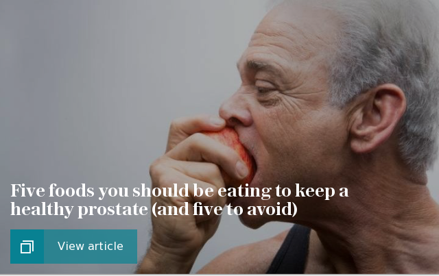 5 foods you should eat if you want a healthy prostate