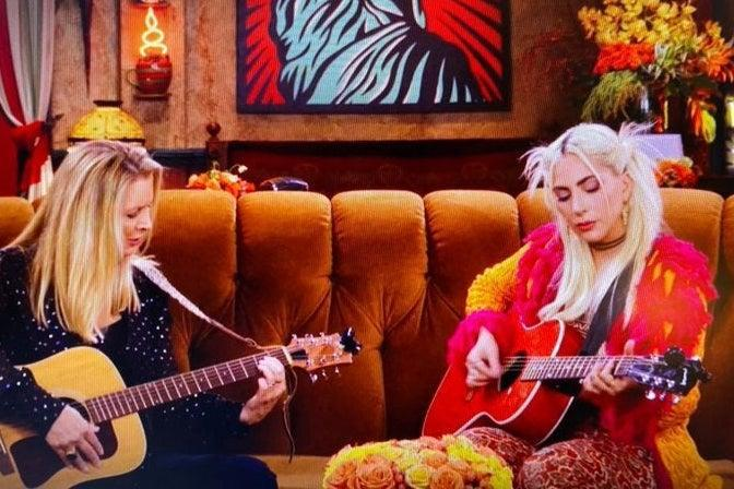 <p>Lady Gaga was cut out of the episode before it aired in China </p> (HBO Max)